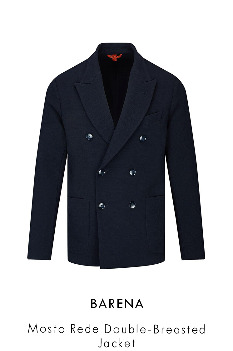 Barena Mosto Rede Double Breasted Jacket