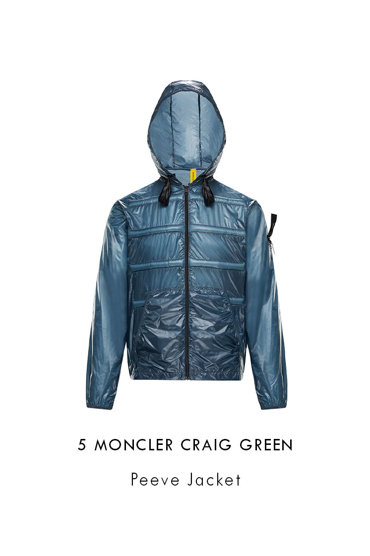 Men's Pastel Blue 5 Moncler Craig Green Peeve Jacket 09H1A70210C0624720