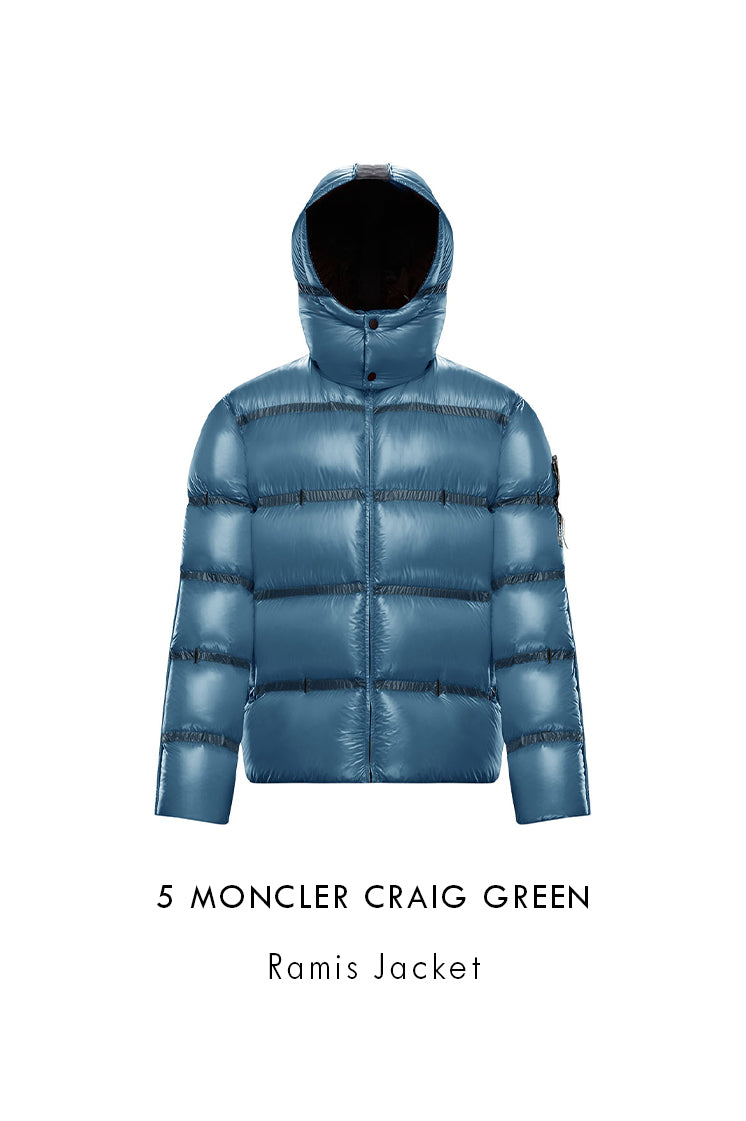 Men's Pastel Blue 5 Moncler Craig Green Ramis Jacket 09H1A50310C0624720