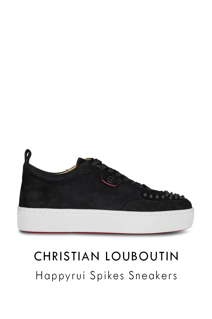 Christian Louboutin Happyrui Spikes Sneakers 1200520B026