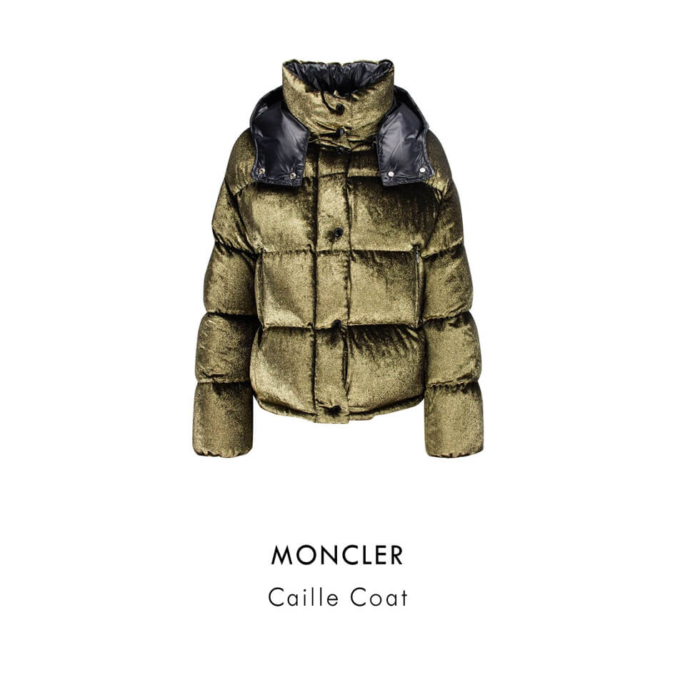 MONCLER Caille Coat