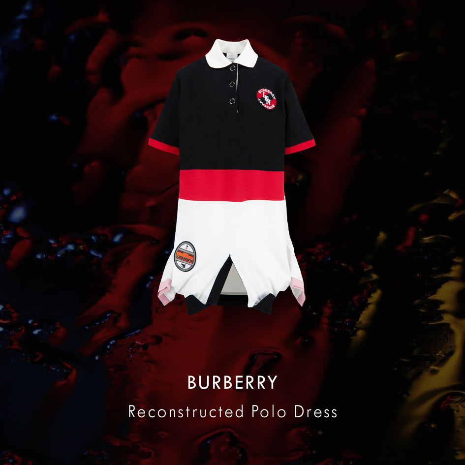 BURBERRY Reconstructed Polo Dress