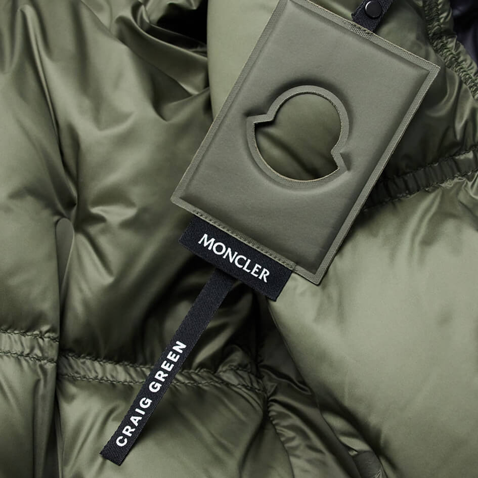 Detachable Green Tag, 5 Moncler Craig Green