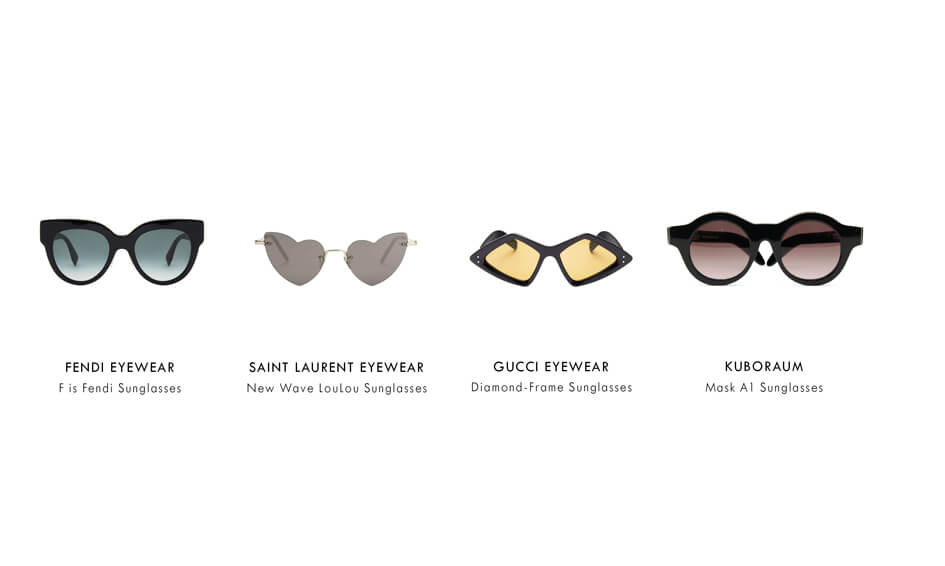 Sunglasses by face shape oval