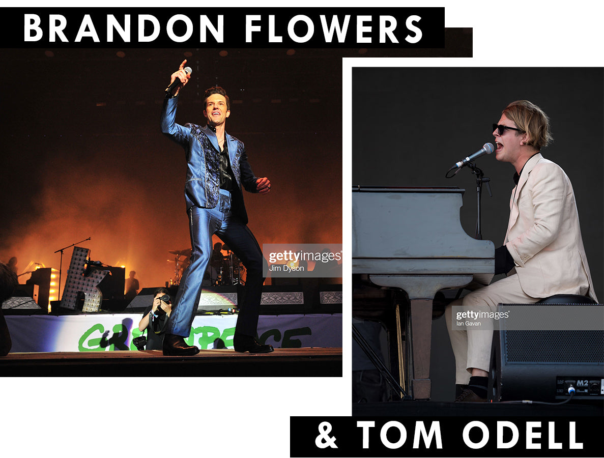 BRANDON FLOWERS AND TOM ODELL