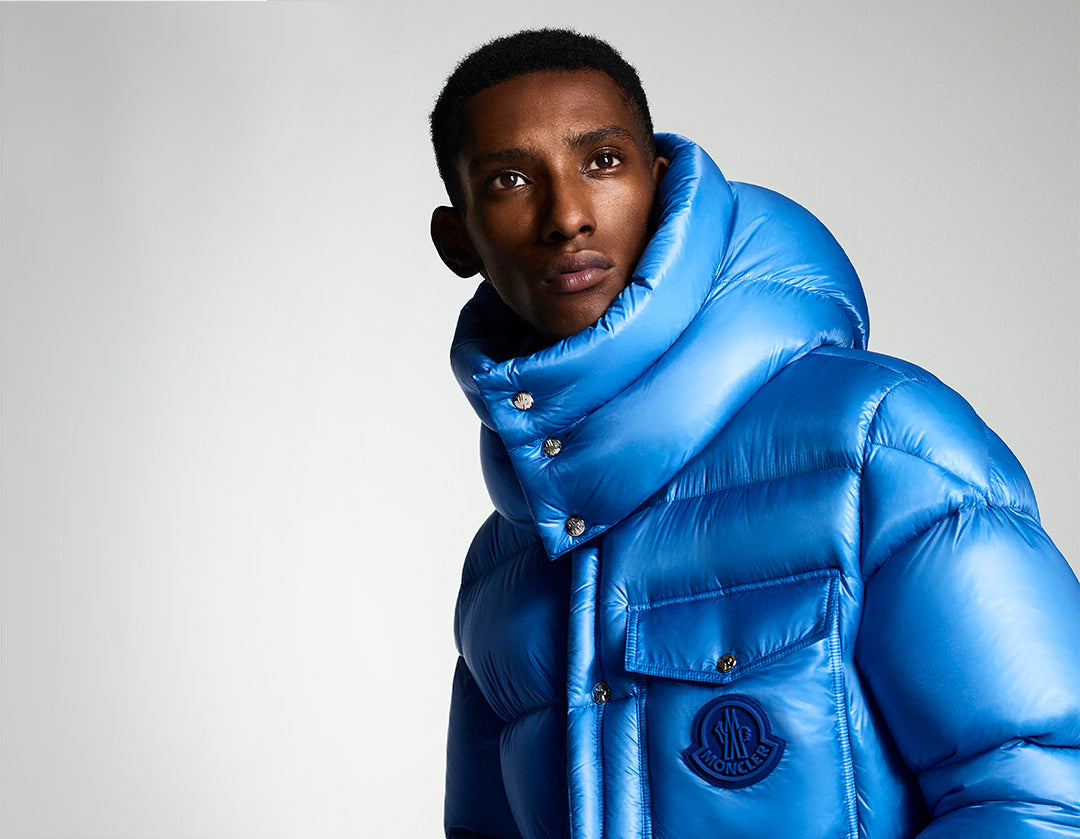 mens blue moncler jacket