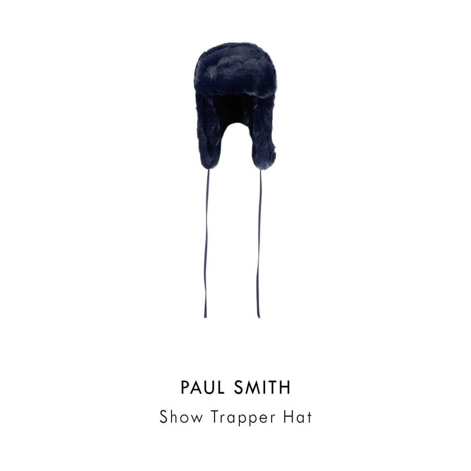 PAUL SMITH SHOW TRAPPER HAT
