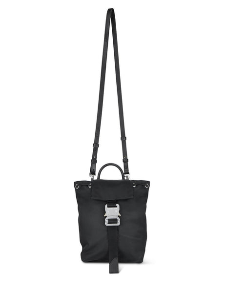 1017 ALYX 9SM Men's Black Re-Nylon Multi Bag AAUBA0022FA01-BLK0001