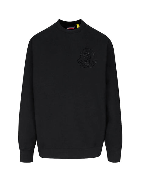 2 Moncler 1952 Men's Black Libertine Sweatshirt 0928G72340V8188999