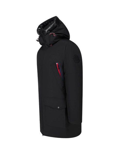 2 Moncler 1952 Men's Black Themisto Long Parka 0921C5100057843999