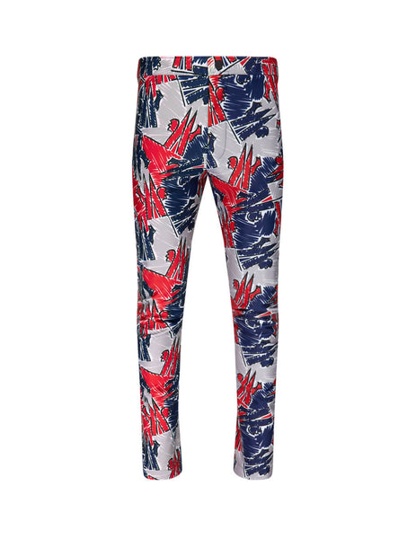 3 Moncler Grenoble Scribble Coloured Sweatpants 09I8H700008029F778