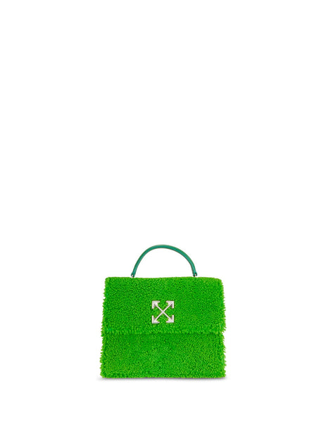 Off-White Women's Giulio Fashion Green Montone Jitney 2.8 Bag OWNA090F19E850504000