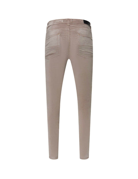 Velour Skinny Stack Trousers
