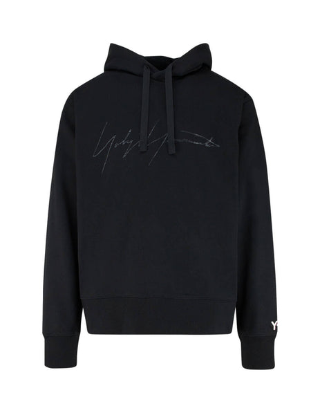 Y-3 Men's Giulio Fashion Black Signature Hoodie FP8691