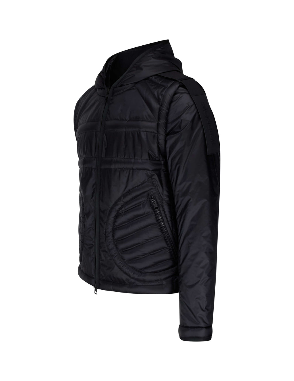 5 Moncler Craig Green Men's Giulio Fashion Black Apex Jacket 4138550C0051999