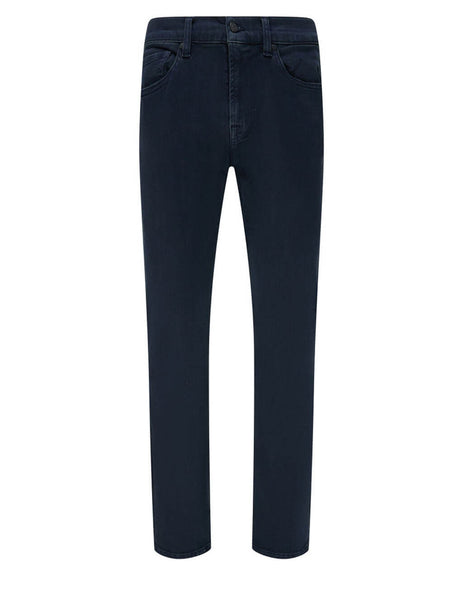 7 For All Mankind Men's Giulio Fashion Rinse Blue Slimmy Luxe Performance Jeans JSMSR460EK
