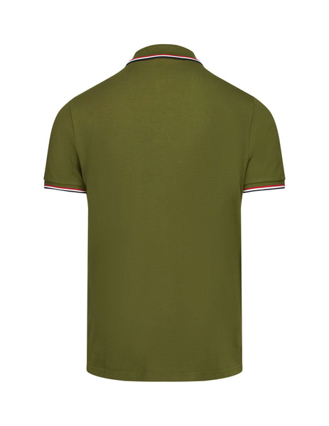 Moncler Men's Giulio Fashion Dark Green Classic Polo Shirt 834560084556833