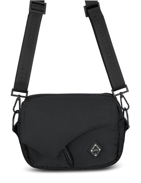 Men's A-COLD-WALL* Shale Padded Envelope Bag in Black - ACWUG037-BLK