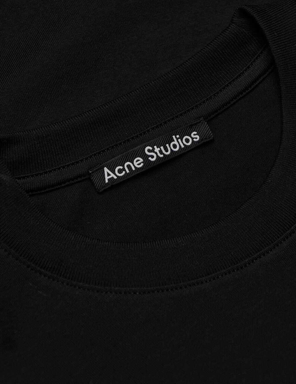 Acne Studios Unisex Black Eisen Face T-Shirt CL0087-900