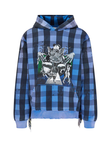 Alchemist Men's Blue Babylon Burning Hoodie ALDRFW20M JHD04
