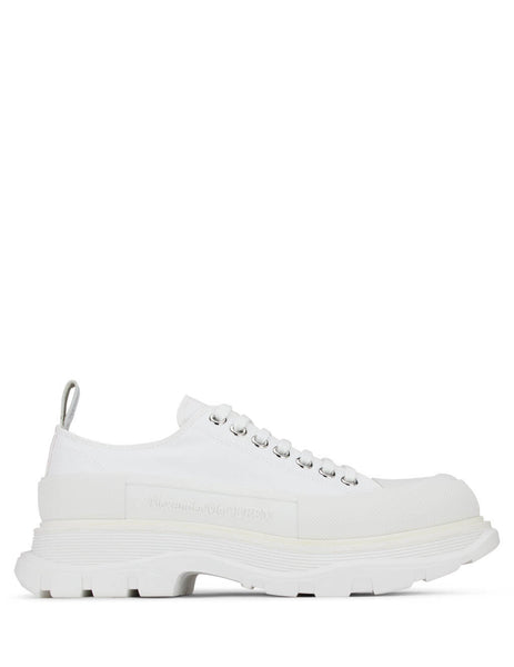 Alexander McQueen Men's White Chunky Low-Top Sneakers 604257W4L329000