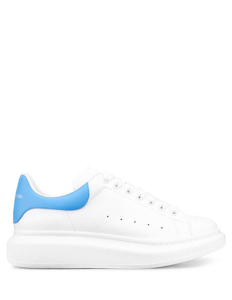 Alexander McQueen Men's Giulio Fashion White Oversized Sneakers 553680WHVIP9106