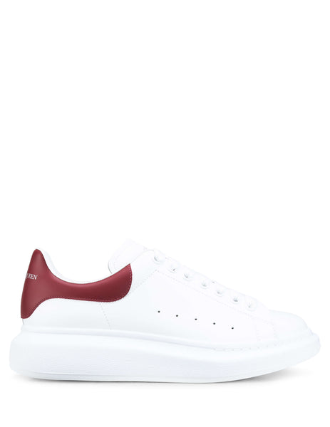 Alexander McQueen Men's Giulio Fashion White Oversized Sneakers 553680WHVIP9144