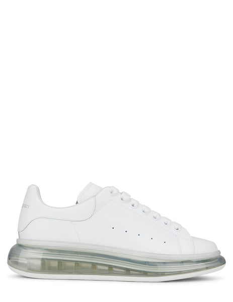 Transparent Sole Oversized Sneakers