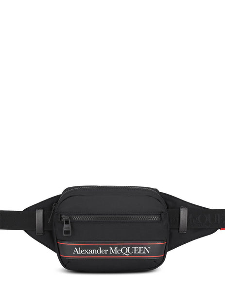 Alexander McQueen Men's Black Urban Belt Bag 625512HV2AB1083