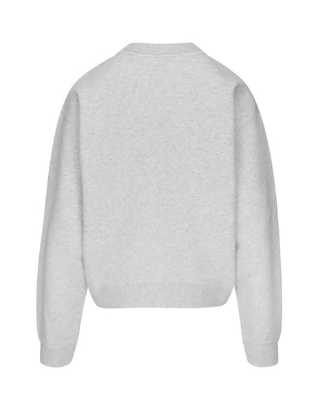 alexanderwang.t Women's Giulio Fashion Grey Foundation Terry Sweatshirt 4CC1201157 050