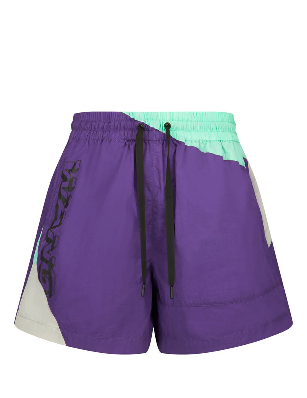 T by Alexander Wang Purple Heavy Washed Shorts 4Wc2194017503