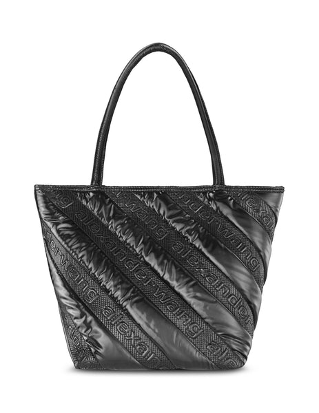 alexanderwang Women's Giulio Fashion Black Roxy Quilted Tote 20C219T009001