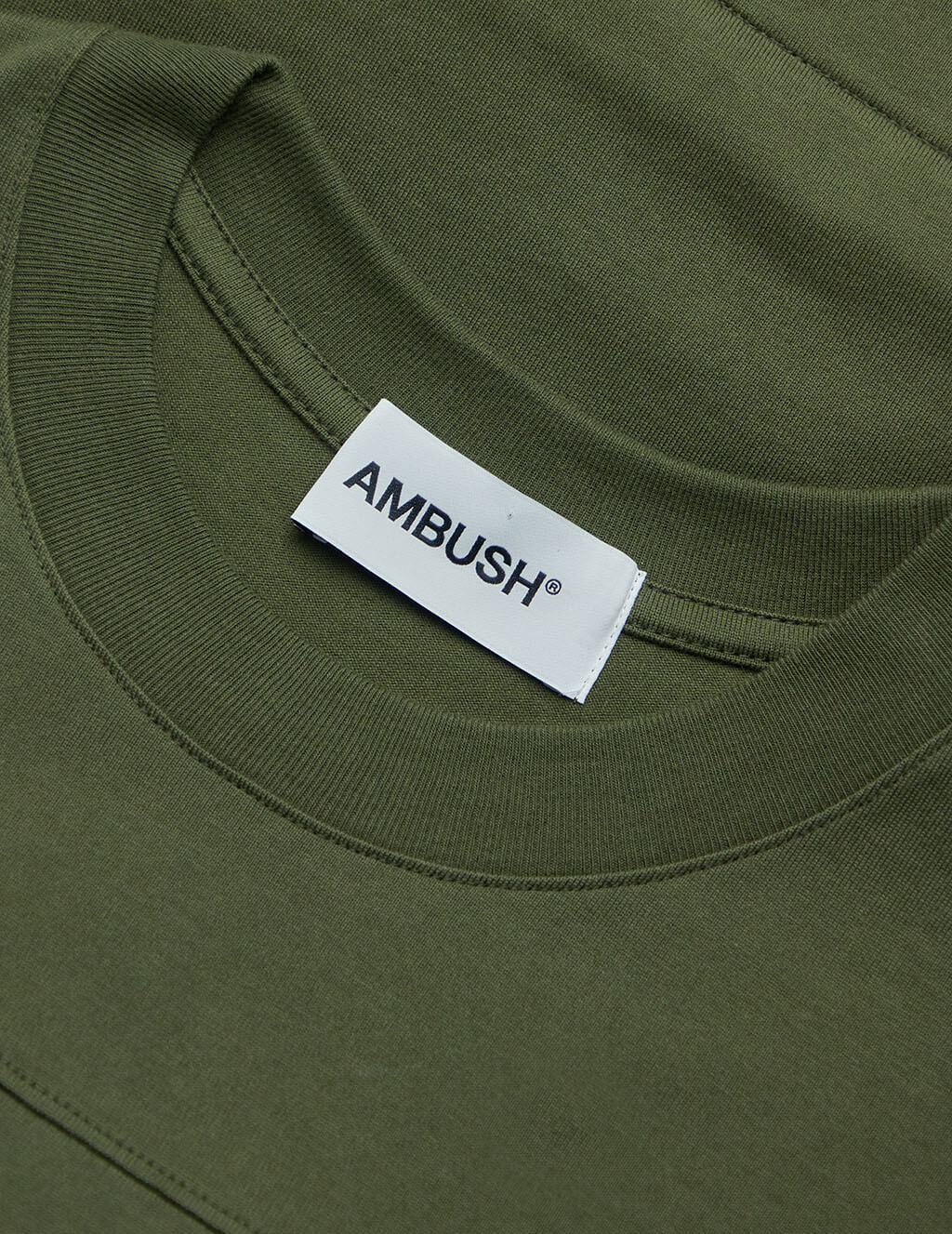 AMBUSH Men's Dark Green New Waist Pocket T-Shirt BMAA004F20JER0015900