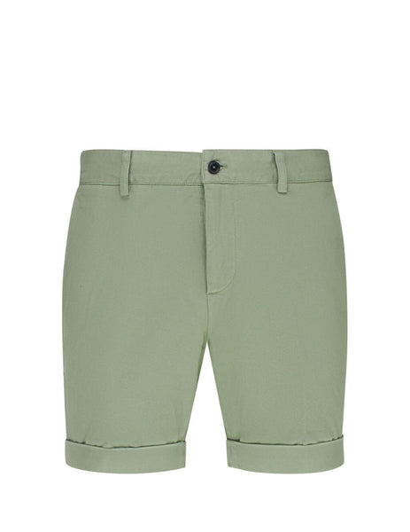 Men's Sage Green AMI Chino Shorts E20HT710.248 317