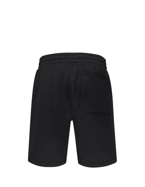 Men's Black AMI De Coeur Track Shorts E20HJ312.742 001