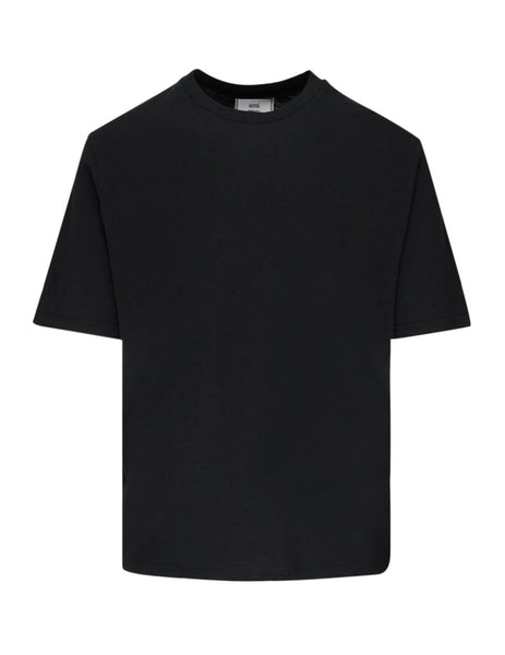 Men's Black AMI Light T-Shirt E20HJ120.712 001
