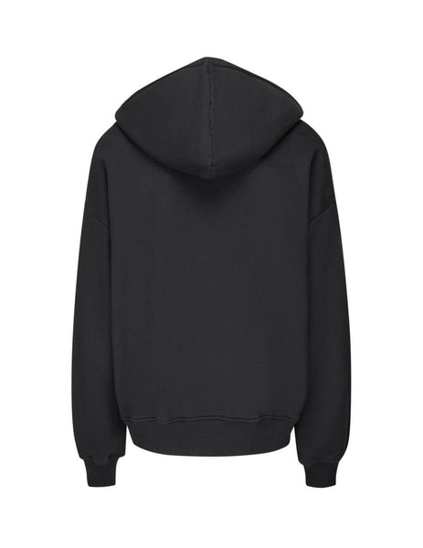 AMIRI Men's Black Been Through The Fire Hoodie F9M02125Tetar