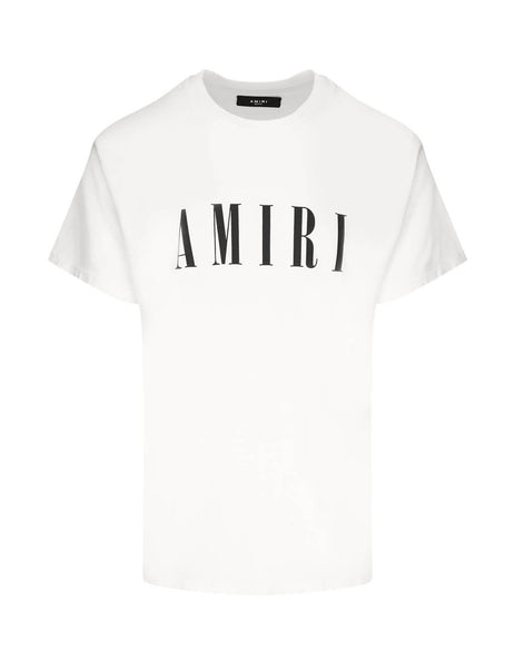 AMIRI Men's Giulio Fashion White Core Tee W9M03337CJWHB