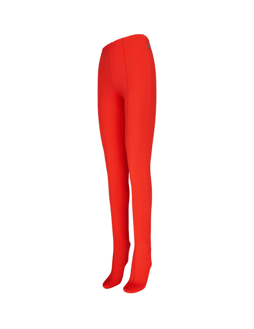 womens balenciaga dynasty leggings in begonia red 622317TTK216004