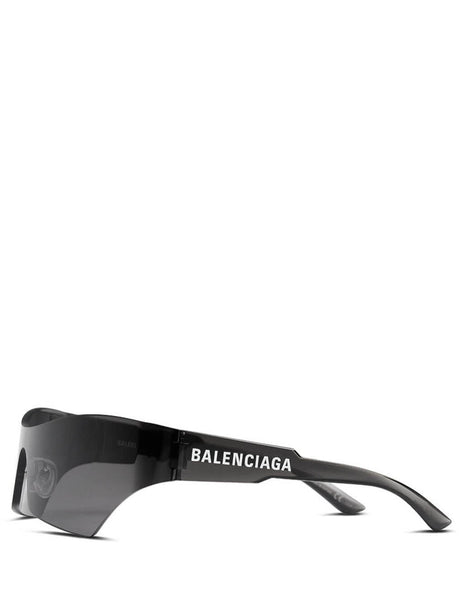 Balenciaga Eyewear Unisex Giulio Fashion Grey Mono Cat Sunglasses BB0040S001