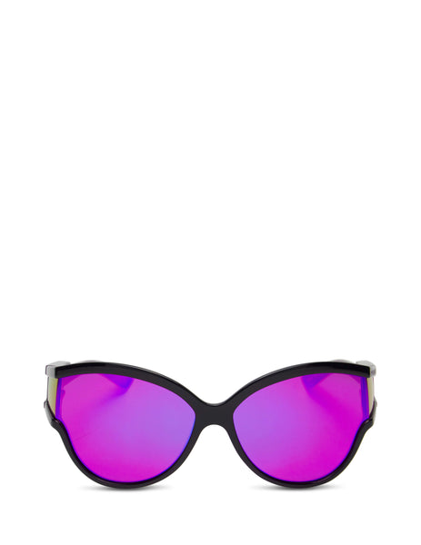 Balenciaga Eyewear Women's Giulio Fashion Purple Unlimited Round Sunglasses BB0038S003