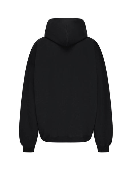 Balenciaga Men's Giulio Fashion Black Gym Wear Hoodie 620973TIVD41000