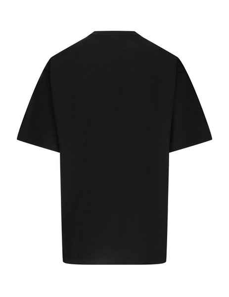 Balencaiga Men's Giulio Fashion Black Gym Wear T-Shirt 620969TIVD51000