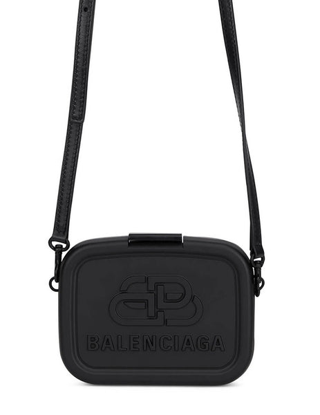 Women's Balenciaga Mini Lunch Box Case in Black - 638324JEW171000