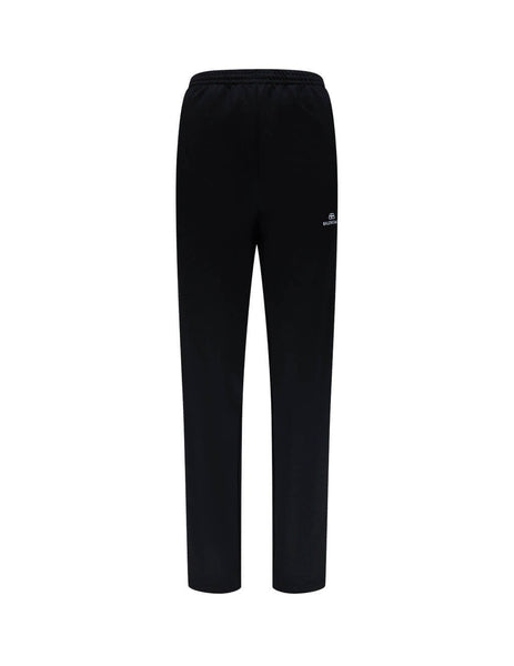 Balenciaga Women's Giulio Fashion Black Side Stripe Joggers 601489TGV041070