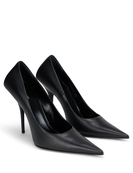 Balenciaga Women's Giulio Fashion Black 110mm Knife Heels 562879WAWN01000