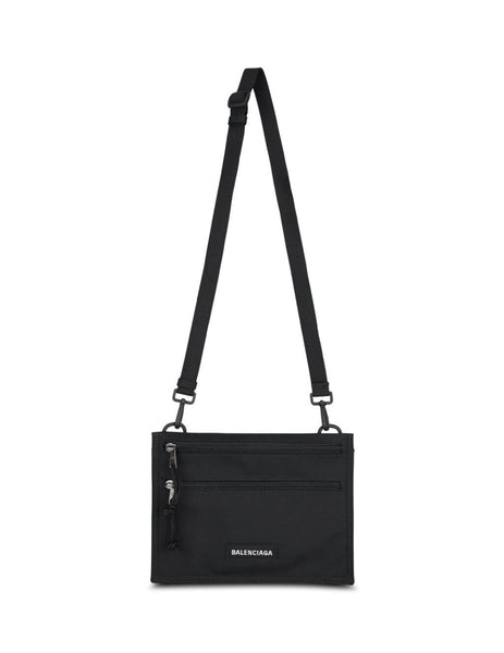 Balenciaga Men's Black Casual Shoulder Bag 618379H753X1000