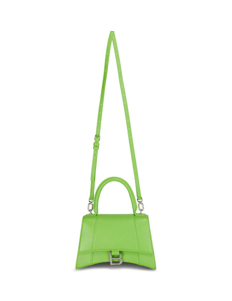 Balenciaga Women's Giulio Fashion Green Hourglass Small Top Handle Bag 5935461IZHY3826