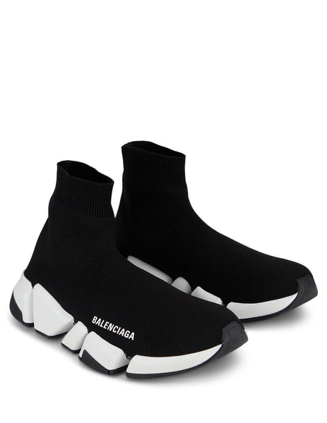 Balenciaga Women's Black Speed 2.0 Sneakers 617196W17021015