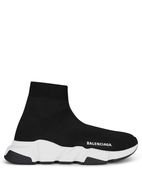 Balenciaga Women's Black Speed Sock Sneakers 587280W05G91000